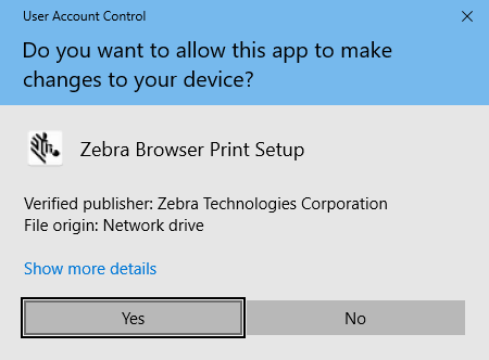 Setting up the Zebra ZD410 on a computer with Zebra Browser